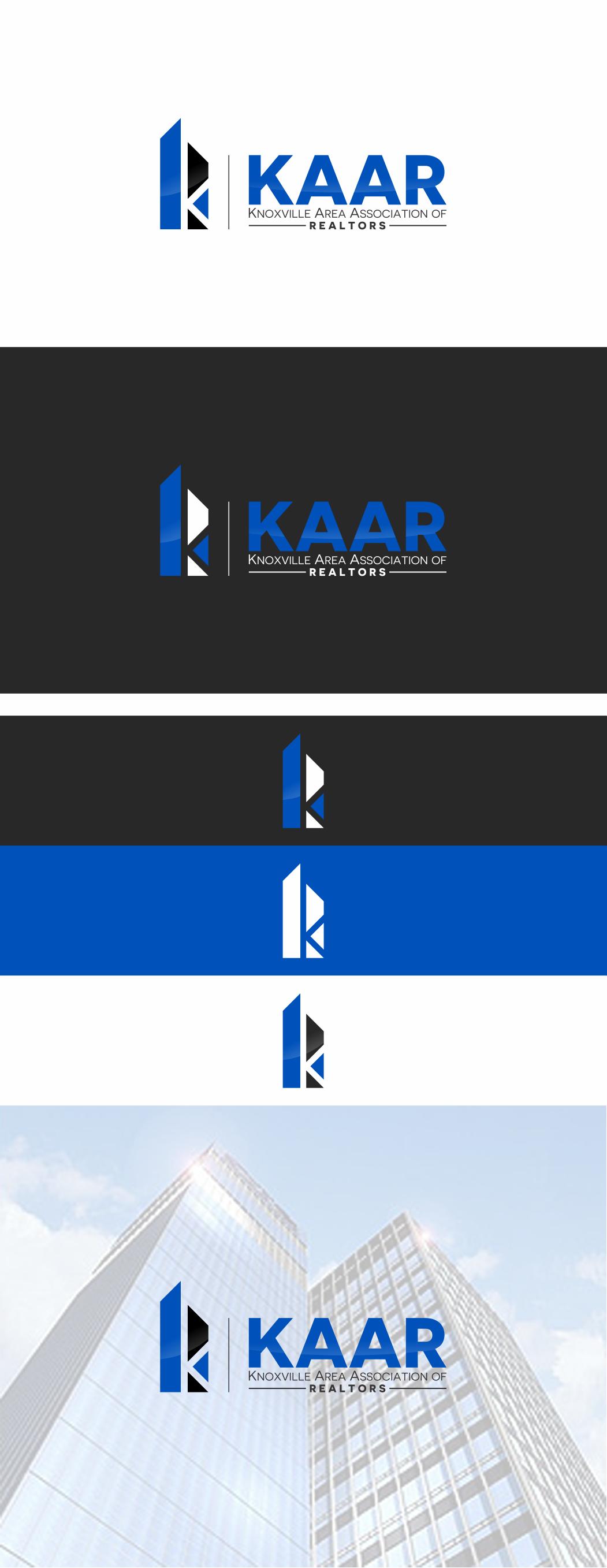 Design a prominent logo for KAAR (Knoxville Area Association of Realtors)