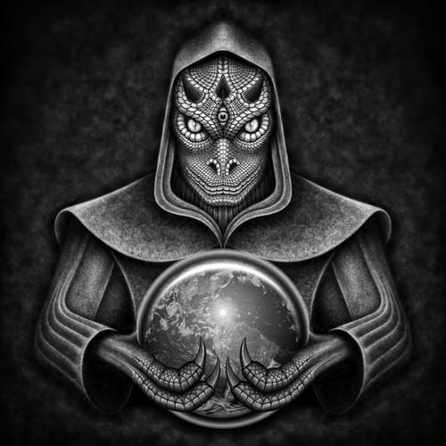 Reptilian Character Illustration