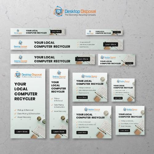 Banner Ads Design for Desktop Disposal