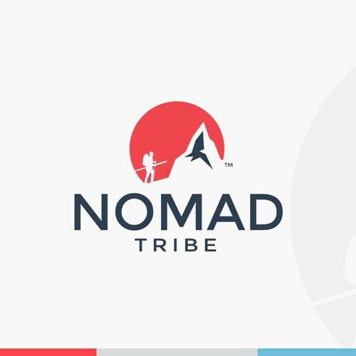 modern logo for travel community website