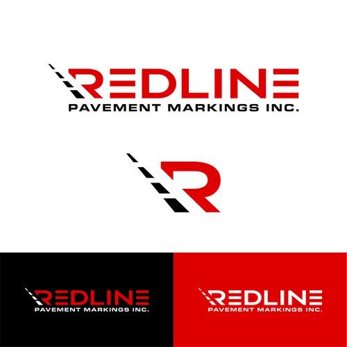 Redline Pavement Marking Logo