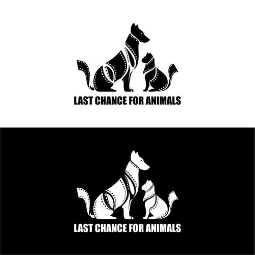 Dog/cat illustration for animal rights