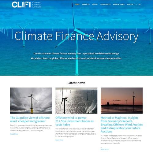 CliFi website
