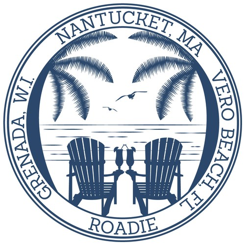 A logo to represent 3 coastal vacation homes