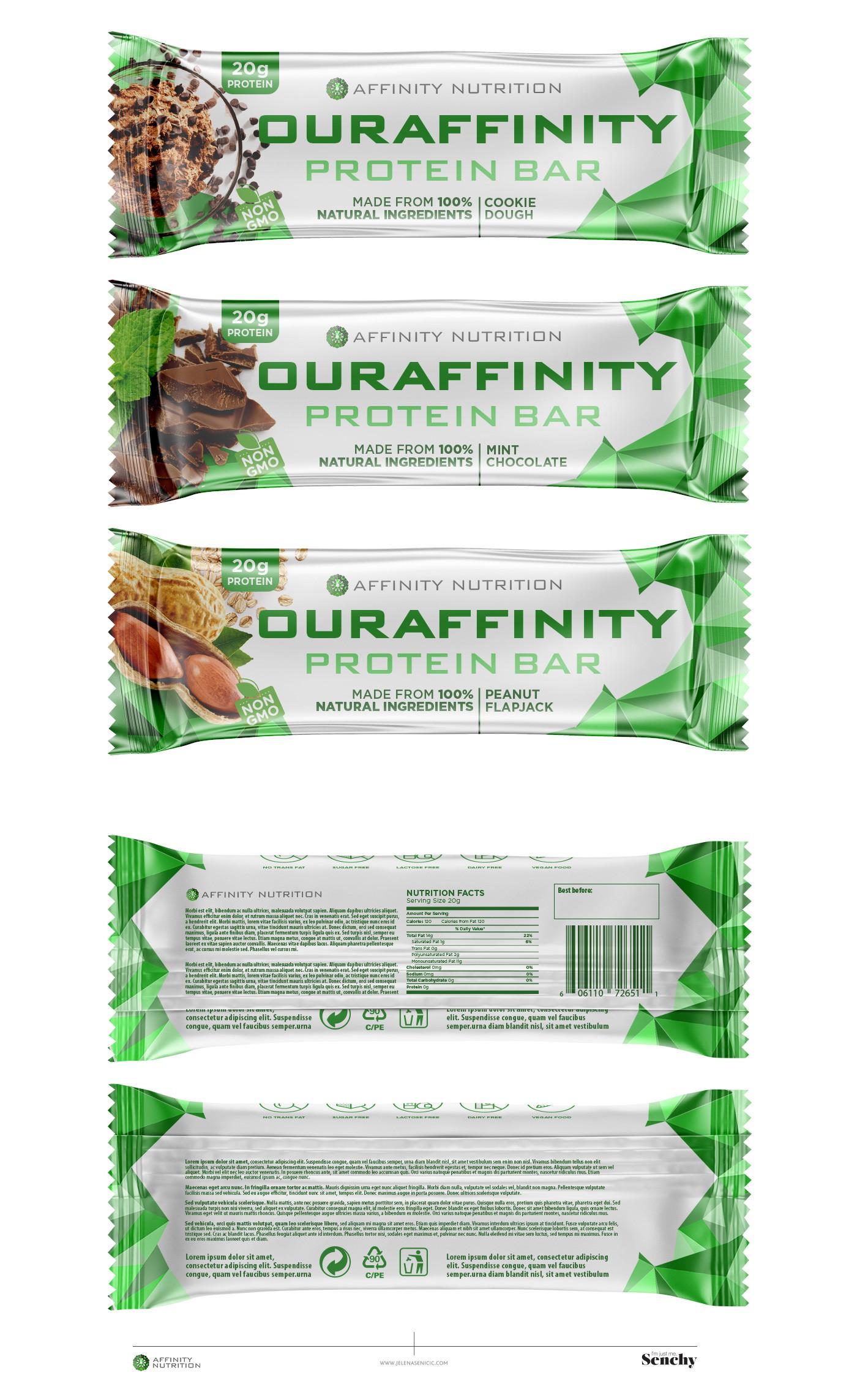 Premium Nutrition Brand Packaging Designs