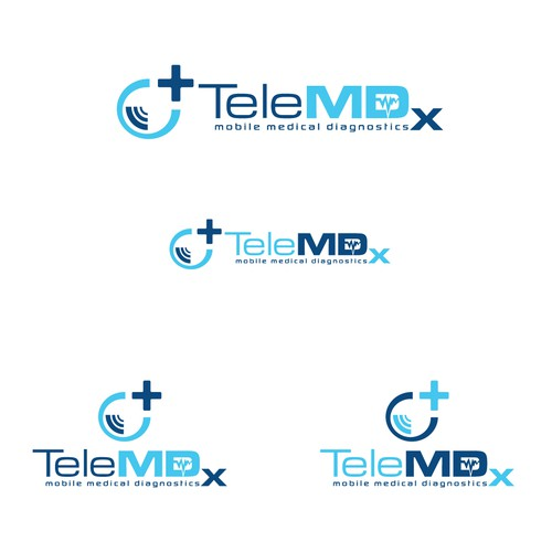 Submit your best logo for TeleMDx!