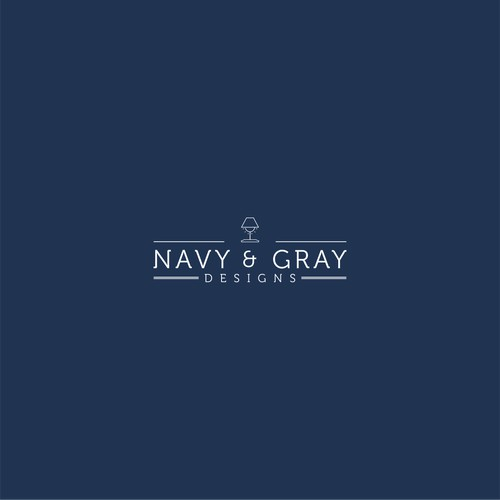 Navy and Grey
