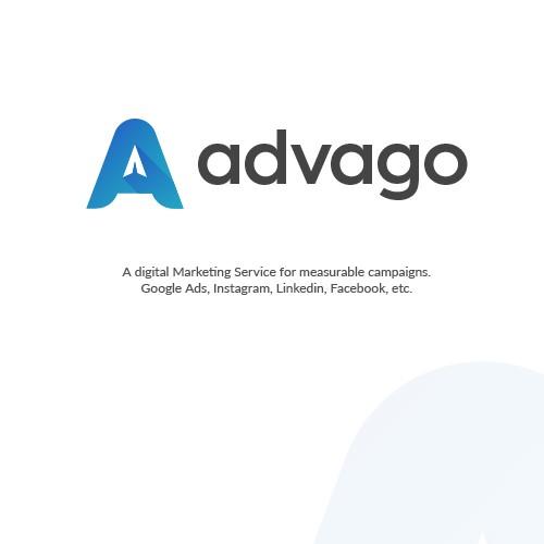 Logo winner entry for a digital marketing service
