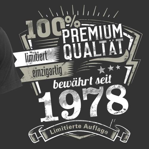 Vintage Shirt Design BIRTHDAY