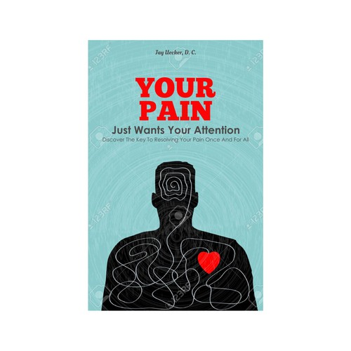 """Contestant on """"Your Pain"""" cover book contest."""