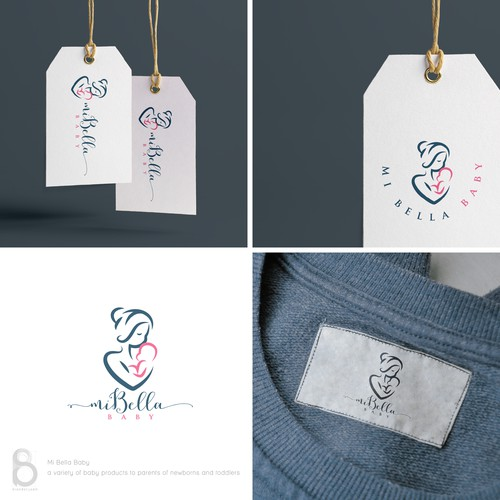 Logo design for Mi Bella Baby