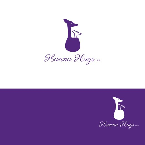 Logo concept with Kangaroo Care