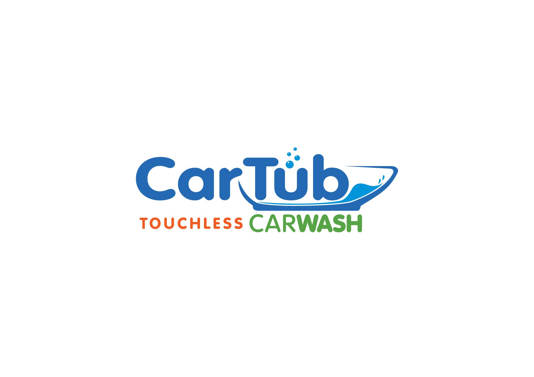 Car Wash needs a new logo, a VW Bug in a Tub doesn't work anymore!