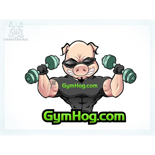 Fitness Pig Logo