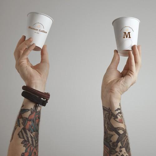 Mansar Coffee || Logo Design
