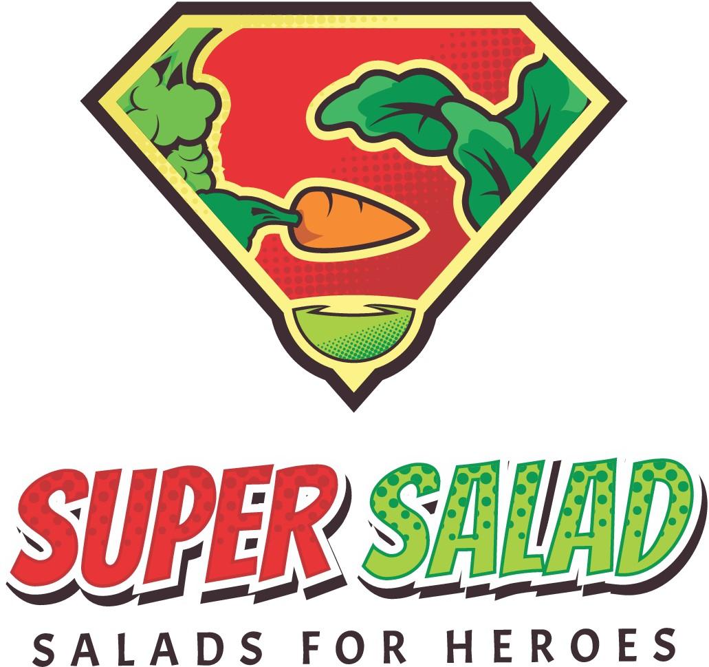 Badass Salad Restaurant - Comic book themed :)