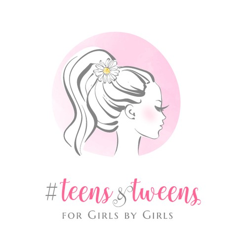 fashionable logo for tweens and teens boutique