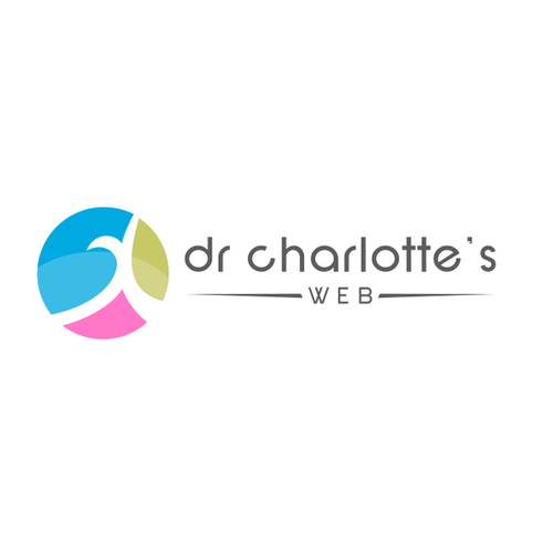 Abstract logo for a women doctor