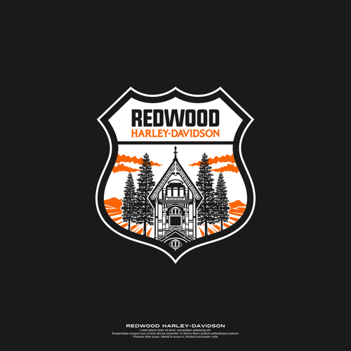 Logo Badge for Motorcycle Dealership