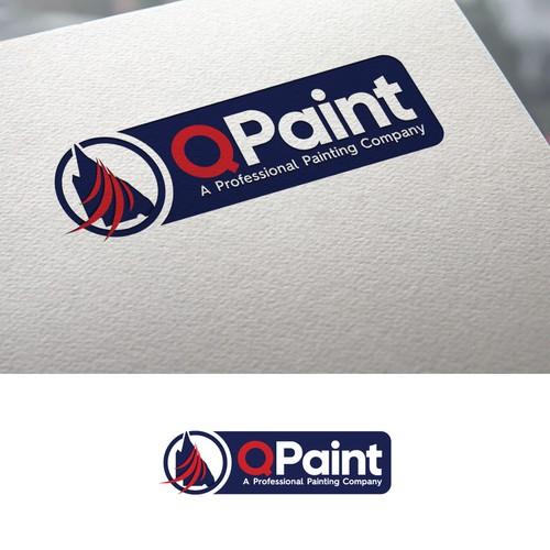 QPaint Logo Design.