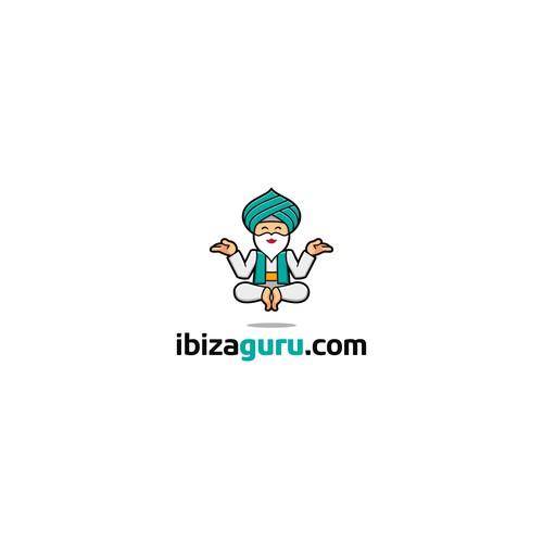 Ibizaguru logo design