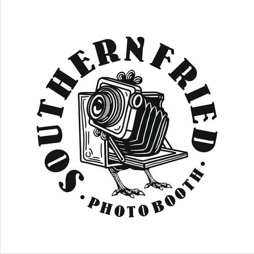 Vintage Photo Booth Logo