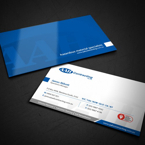 Business card and letterhead redesign