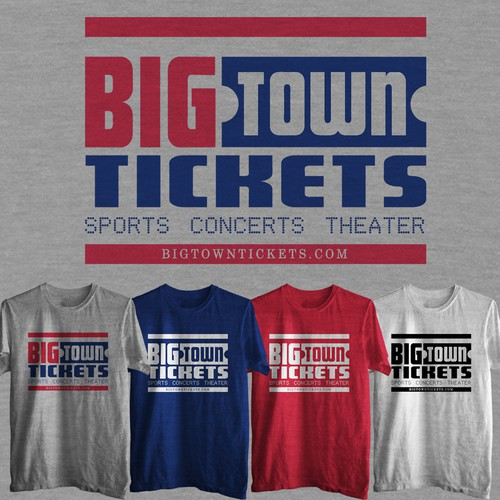 Design great T-Shirt(s) for growing Ticket Brokerage