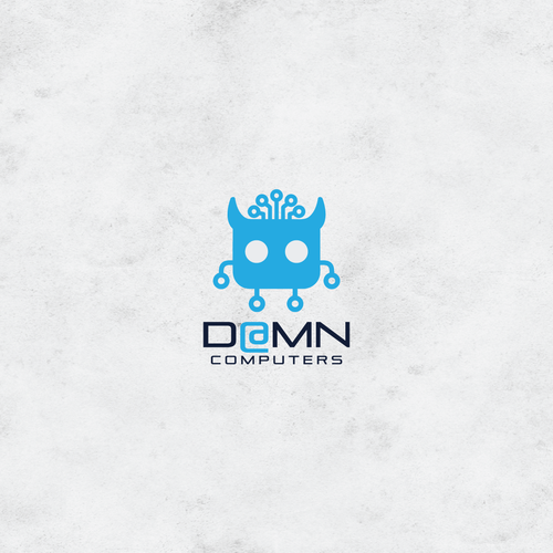 logo for D@MN computers