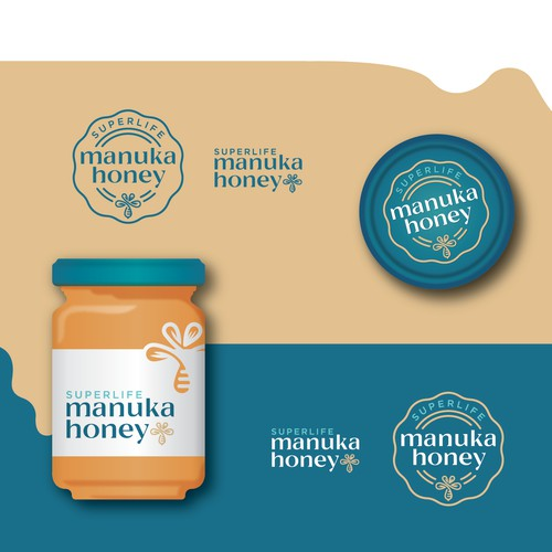 Premium Manuka Honey Design
