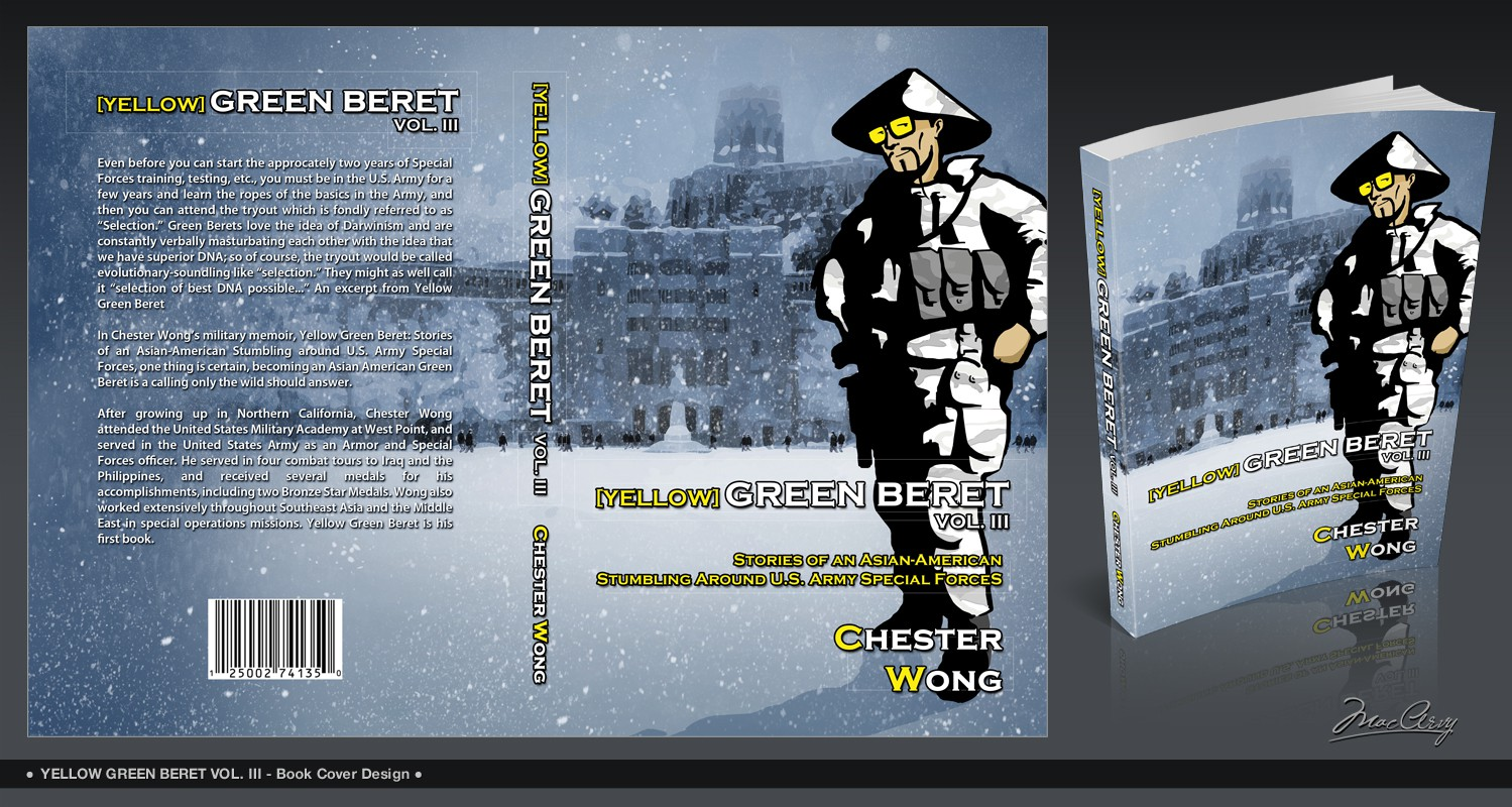 book cover art for Yellow Green Beret Volume III : Stories of an Asian-American Stumbling around U.S. Army Special Forces