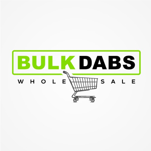 Simple logo for bulk dabs wholesale