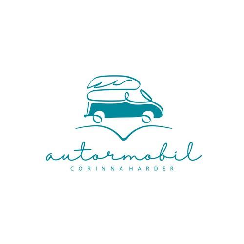 "Traveler writer logo called ""autor mobil"""