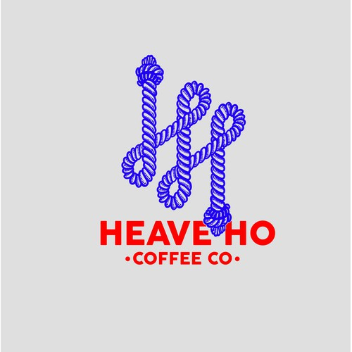 LOGO HEAVE HO COFFEE CO.