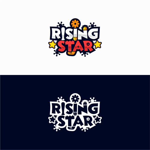 "Logo design for Kids Products Brand ""Rising Star"""