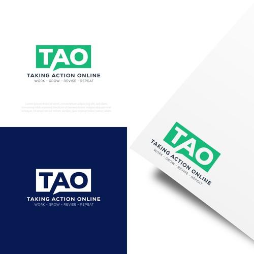 taking action online logo