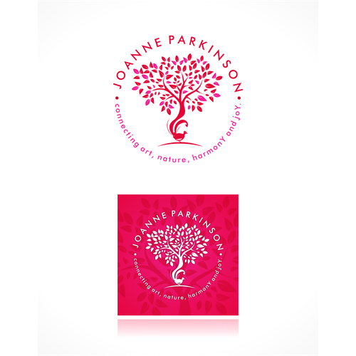 Create a beautiful and capturing logo for a healing art business in Australia