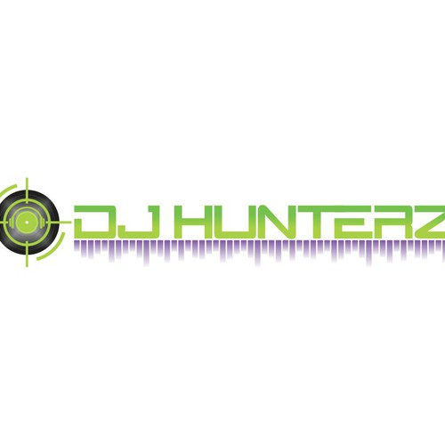 You've been hunted to design our DJ Hunterz logo!