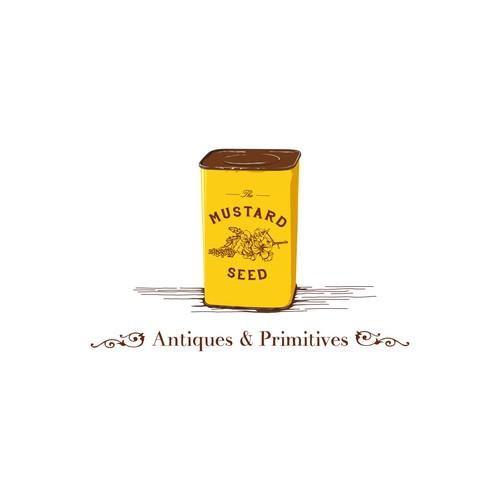 Retro Logo for Antiques