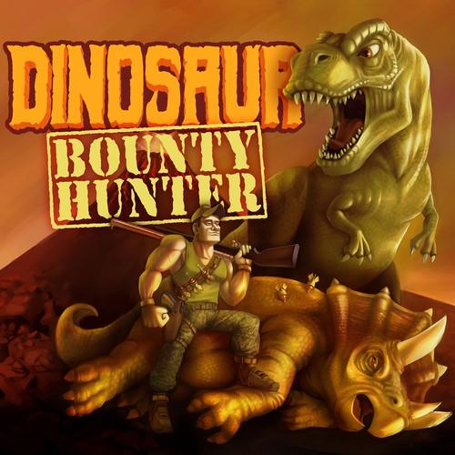 DOn Bounty Hunter board game cover design