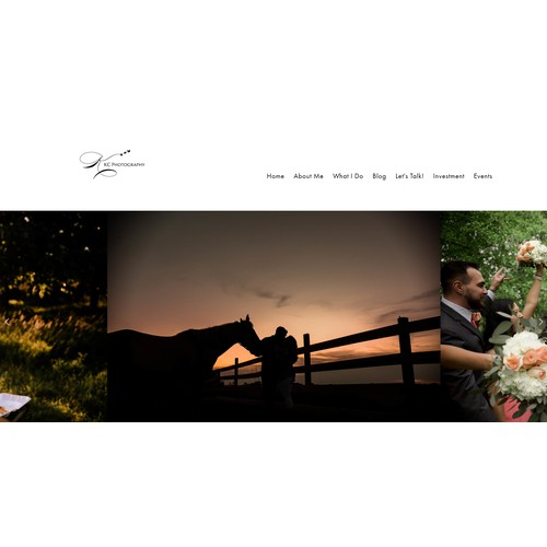 Squarespace Website Design for KC Photography