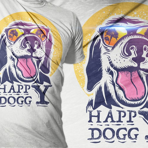 happy doggy tshirt project
