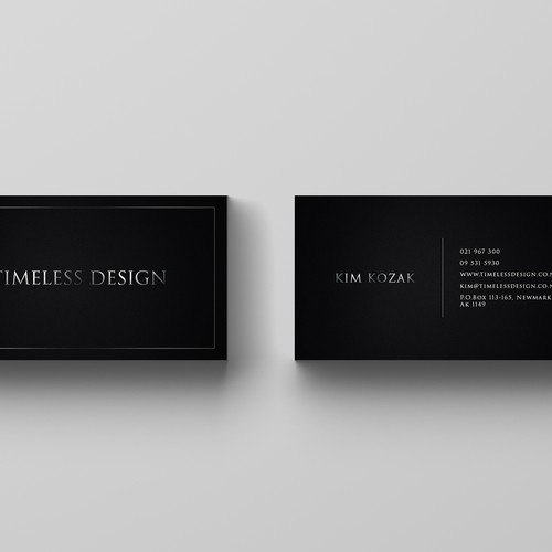 Clean, Elegant Business Card