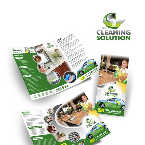 Brochure Design Needed For The Cleaning Solution