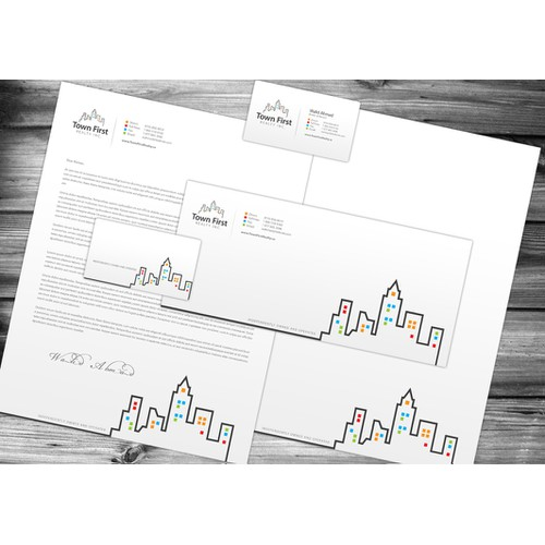 Business Card & Stationery for Real Estate Brokerage