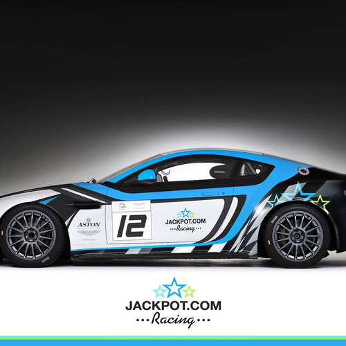 Aston Martin wrap design
