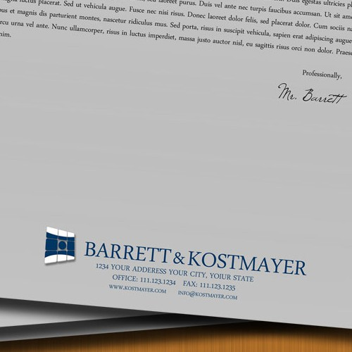 CPA Firm Letterhead and Logo Design
