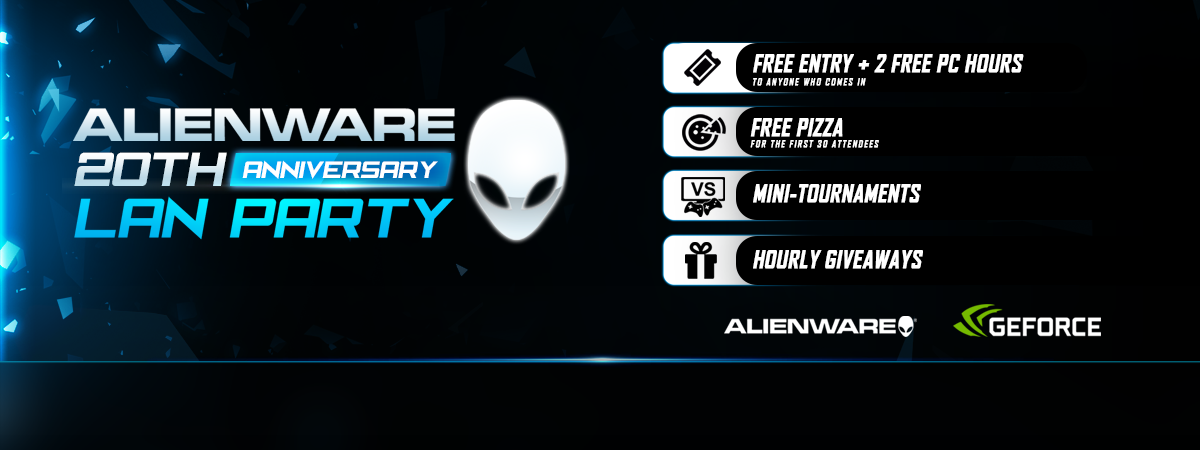 1080p banner for special event (Alienware 20th Anniversary)