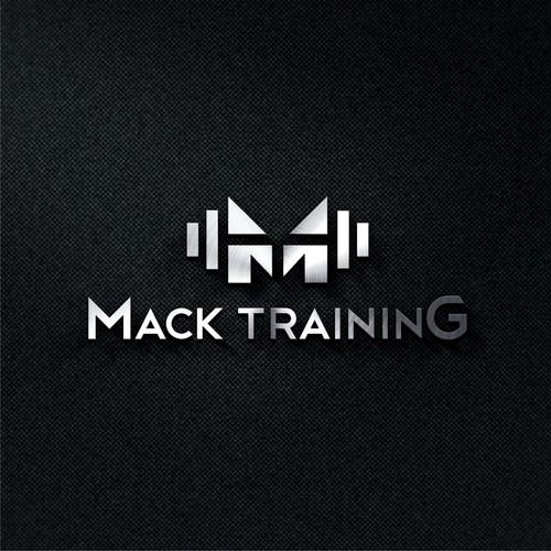 Logo concept for Mack Training.