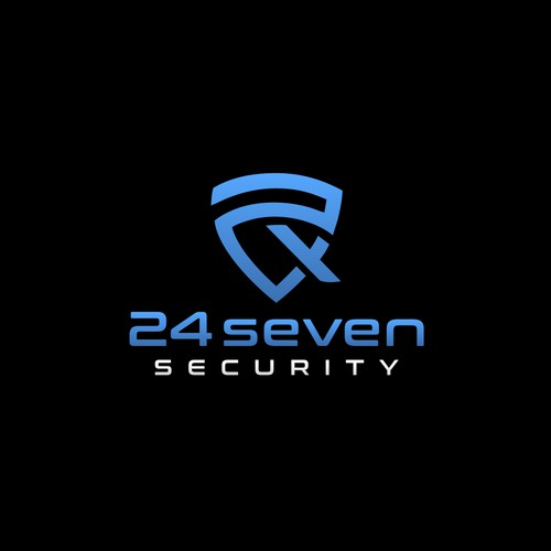 24seven Security logo design